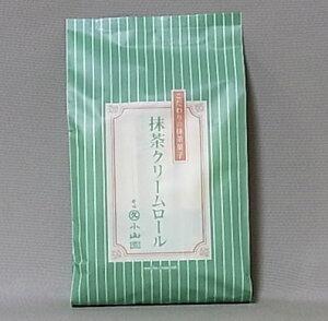 丸久小山園 宇治抹茶 抹茶菓子 抹茶クリームロール10本袋入