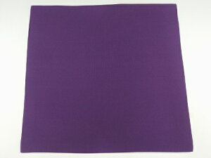 男性用 塩瀬帛紗・紫(袱紗)『4号』 正絹【扱いやすい薄手タイプ 】
