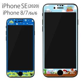 ディズニー トイストーリー 液晶フィルム iPhone SE 第2世代 iPhone8 iPhone7 iPhone6s ガラスフィルム キズ防止 スクリーンプロテクター 再剥離可 気泡レス キャラクター グッズ キズ防止 アイフォン SE2 アイホン iPhoneSE 第二世代 かわいい