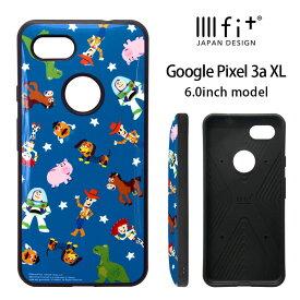 IIIIfit トイストーリー Google Pixel 3a XL ケース ハイブリッド スマホケース google カバー ジャケット 耐衝撃 Disney ディズニー ピクサー ポップ オシャレ Google Pixle3a xl かわいい キャラクター グッズ ハードケース