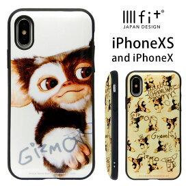 iPhone x iphone xs ケース おしゃれ イーフィット IIIIfit キャラクター グレムリン | スマホケース 耐衝撃 ハードケース 携帯ケース iphoneケース アイフォンXS アイホンXs アイフォン10 アイフォン10s総柄 かわいい Gizmo
