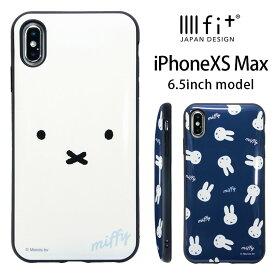 bb2f25597b IIIIfit イーフィット ミッフィー iPhone XS Max 6.5インチモデル対応 プロテクターケース オシャレ 大人女子