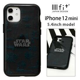 STAR WARS IIIIfit clear iPhone 12 mini ケース スター・ウォーズ ロゴ クリアケース 戦闘機 カバー ジャケット かわいい アイホン アイフォン オシャレ iPhone12 mini iPhone12 ミニ ハードケース クリアカバー