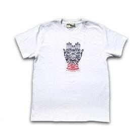 ASCENSION(アセンション) HAND GRAPHIC Tシャツ メンズ(mens)・フリーハンド Tシャツ(T-shirt)・アウトドア(outdoor)・野外フェス・シンプル・グラフィック シルクスクリーン グラデーション モノトーン as-712