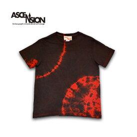 藍染め Tシャツ ASCENSION(アセンション)インディゴTシャツ 藍染めTシャツ メンズ Tシャツ タイダイ アウトドア as-779