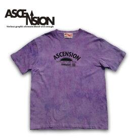 ASCENSION(アセンション)曼荼羅 タイダイ TEEシャツ メンズ(mens)・Tシャツ(T-shirt) アウトドア(outdoor)・野外フェス・タイダイ・TIE-DYE as-651