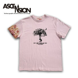 ASCENSION(アセンション)曼荼羅 タイダイ TEEシャツ メンズ(mens)・Tシャツ(T-shirt) アウトドア(outdoor)・野外フェス・タイダイ・TIE-DYE as-652