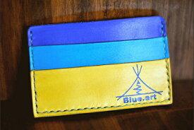 BLUE.art(ブルードットアート)Card case カードケースサドルレザー[Saddle leather] ba-009