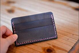 BLUE.art(ブルードットアート)Card case カードケースサドルレザー[Saddle leather] ba-014