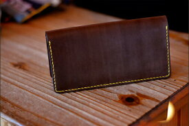 BLUE.art(ブルードットアート)Natural leather long wallet (ロングウォレット) material Original Dye Leather ba-018