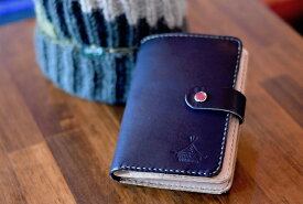 BLUE.art(ブルードットアート)Natural leather wallet —BLACK-- ba-062