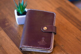 BLUE.art(ブルードットアート)Natural leather wallet Horween chromexcel leather ホーウィン社のクロムエクセルレザー ba-063