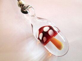 TaigaGlass (タイガグラス) ペンダント(宇宙ガラス ペンダントトップ お香立て 灰皿 ガラス パイレックスガラス 硼珪酸ガラス ボロシリケイトガラス プレゼント・小物・アクセサリー)taiga-092