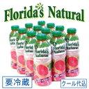 【送料無料】フロリダスナチュラル ルビーレッドグレープフルーツジュース 1000ml×12本 (フロリダ産ストレート100%グレープフルーツジュース)【RCP】