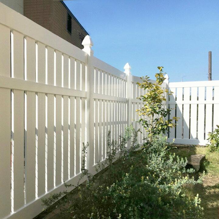 【フェンス 樹脂】 フェンス 白 ナチュラル!カントリーガーデンに!ホワイトフェンス「ウィンドスルー」【ガーデンフェンス】【送料無料】