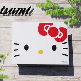【送料無料】「ハローキティ ガーデンコレクション アートポスト L'ombre ロンブル Hello Kitty フェイス」 壁掛けタイプ