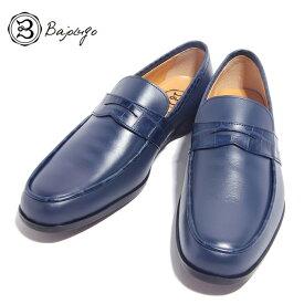 BajoLugo バジョルゴ おとこのブランドHEROES 掲載 シューズ スニーカー 靴 ローファー デッキ ドライビング クロコダイル ネイビー メンズ 送料無料