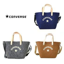 CONVERSE コンバース フェルト レザー ミニ トート バッグ 鞄 メンズ レディース ブランド