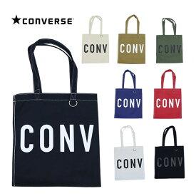 CONVERSE コンバース ラウンドロゴ トートバッグ キャンバス メンズ レディース バッグ 鞄