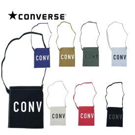CONVERSE コンバース ラウンドロゴ ショルダーバッグ キャンバス メンズ レディース バッグ 鞄