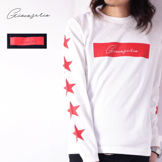 Gioco serio 박스 로고&스타 긴소매 T셔츠 XS S M L LL 3 L맨즈