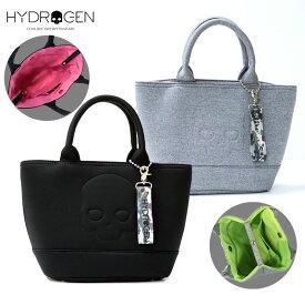 HYDROGEN ハイドロゲン 2020ss新作 スカル スウェット ミニトートバッグ 日本限定 メンズ レディース ブランド 黒 グレー