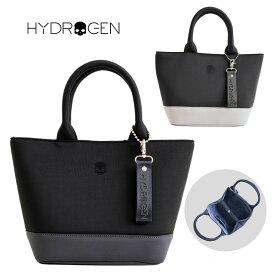 【2021SS】 HYDROGEN ハイドロゲン スカル ミニトート バッグ MINI TOTE BAG チャーム付き マグネット ボタン ロゴ ワンポイント メンズ レディース