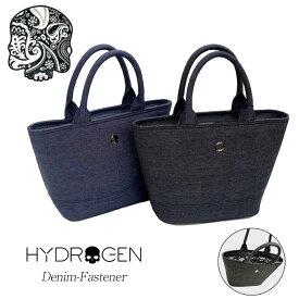HYDROGEN ハイドロゲン スカル デニム ミニトート バッグ MINI TOTE BAG ファスナー メタル ロゴ ペイズリー ワンポイント メンズ レディース
