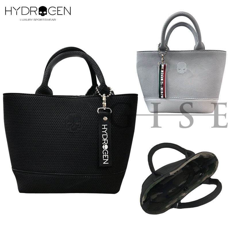HYDROGEN ハイドロゲン スカル刺繍 ミニトートバッグ メンズ レディース ブランド