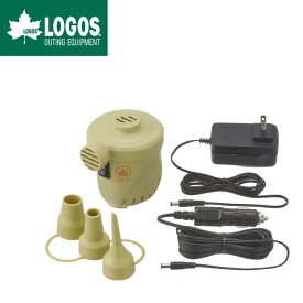 LOGOS ロゴス 電動 エアポンプ AC/DC 2wayパワーブロー 4mロングDCコード/0.51PSI