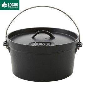 LOGOS ロゴス アウトドア SL ダッチオーブン 10inch ディープ バッグ付き IH対応