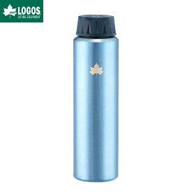 LOGOS ロゴス アウトドア 携帯オアシス スピナー ボトル 水筒 ミラーブルー