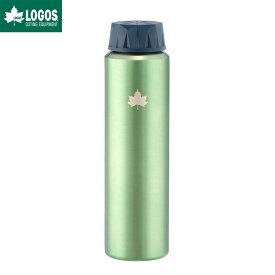LOGOS ロゴス アウトドア 携帯オアシス スピナー ボトル 水筒 ミラーグリーン