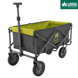 LOGOS ロゴス アウトドア キャリーカート 4輪 折りたたみ ワンタッチ おすすめ 大型 ROSY ラゲージキャリー Grロゴ