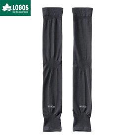 LOGOS ロゴス COOLSKIN UV レッグカバー ブラック 黒 冷感 夏 ブランド 日よけ 足
