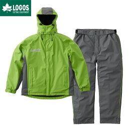 LOGOS ロゴス LIPNER リプナー 超耐水防水防寒スーツ パメラ 上下セット グリーン M