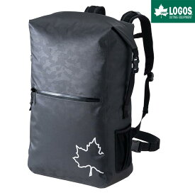LOGOS ロゴス SPLASH mobi ダッフル リュック 50L バックパック 防水 ブラックカモ