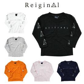 REIGINAL レイジナル ロゴ 長袖 Tシャツ キッズ 子供服