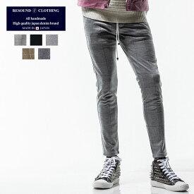 RESOUND CLOTHING リサウンドクロージング ライン スーパータイト テーパード パンツ メンズ