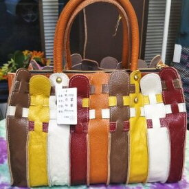 牛革パッチワークbag(メルヘンタイプ5色)定価16,280円 税込 送料無料