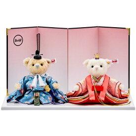 雛人形 ひな人形 雛 コンパクト シュタイフ Steiff シュタイフ テディベア ひな人形(桜うさぎ) 2020年 日本限定1500体 2020年2月中旬入荷予定 おしゃれ
