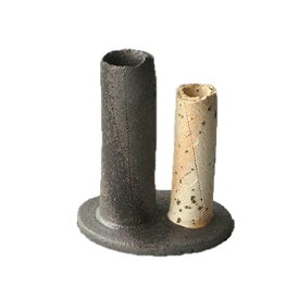 信楽焼 和雑貨 花瓶 草土(sohdo) 丸柱 おしゃれ