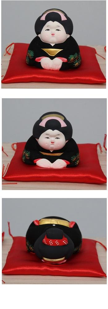 博多人形三福三(さんぷくさん)お福さん