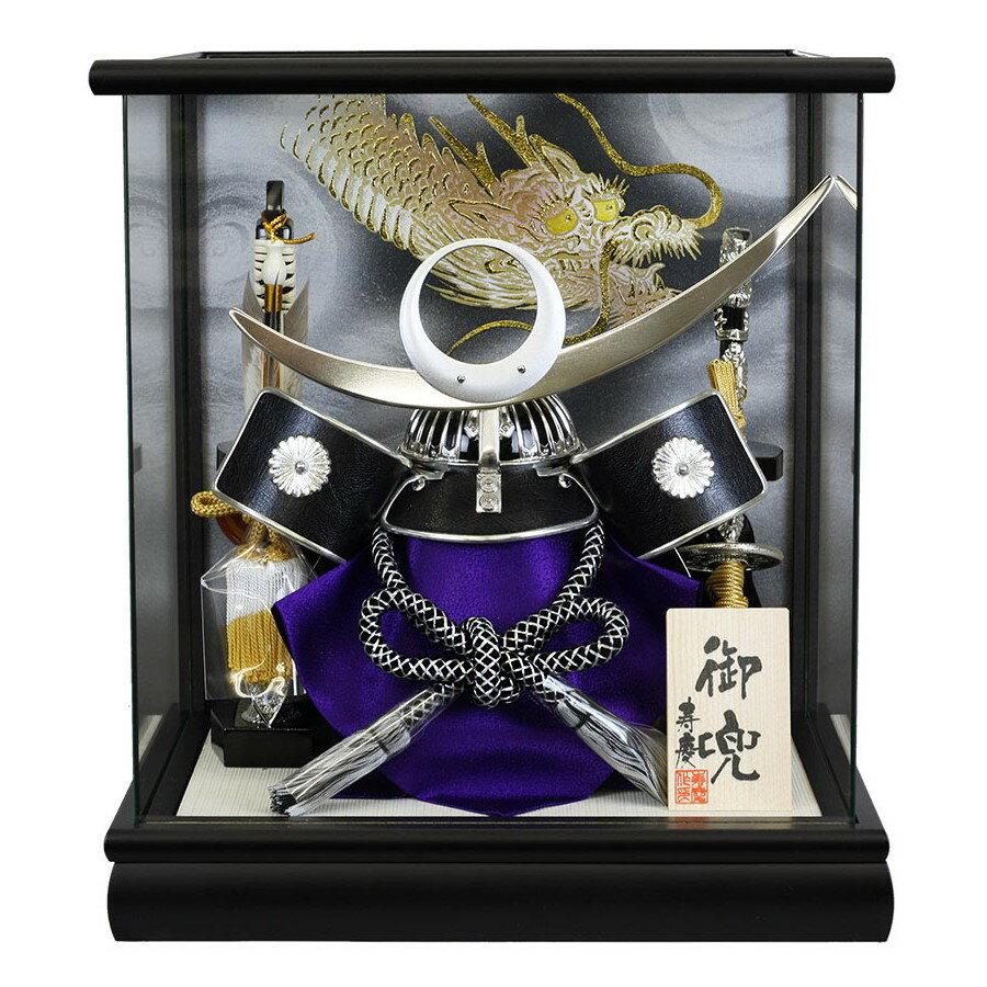 【超特価!数量限定価格】五月人形 兜ケース飾り 上杉謙信 寿慶 コンパクト