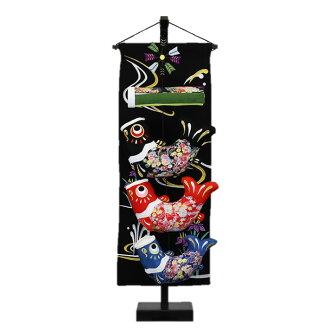 室內用內容豐富的上升菖蒲的鯉魚旗