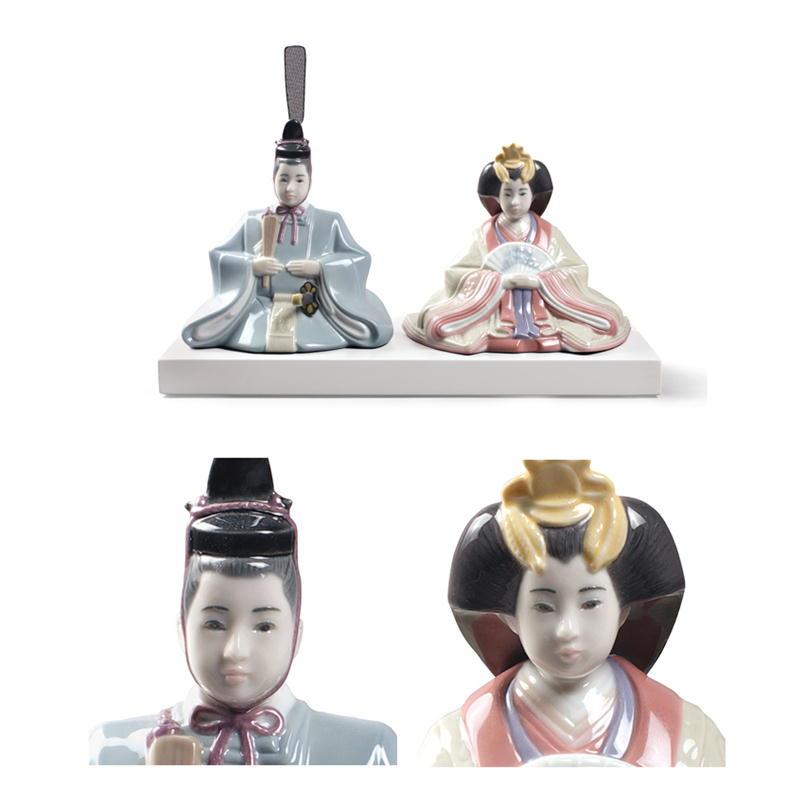 NAO ナオ ひな人形 親王飾り 02001794