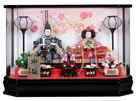 【25日限定楽天カード決済でP10倍】 雛人形 ひな人形 ケース飾り ケース 鈴音親王ケース飾り アクリルケース おしゃれ
