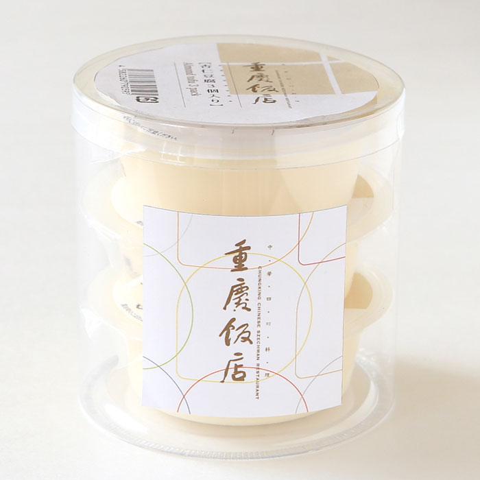 横浜中華街 重慶飯店 杏仁豆腐 3個入