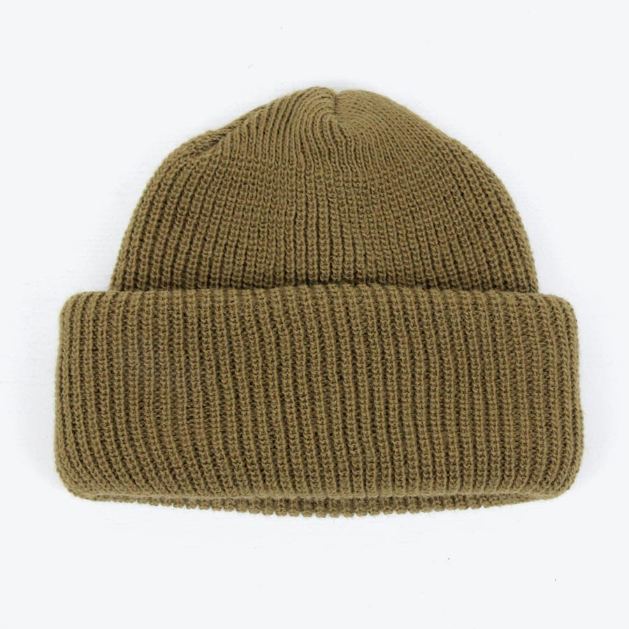 【新品】(KA) (KO) MADE IN USA KNIT CAP USA製 ニットキャップ KHAKI [NEW]