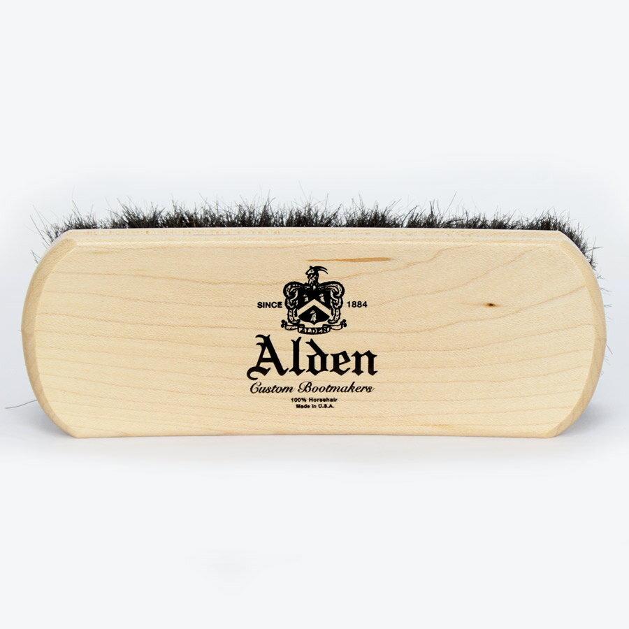 【新品】ALDEN ホースヘアーブラシ オールデン純正 馬毛製